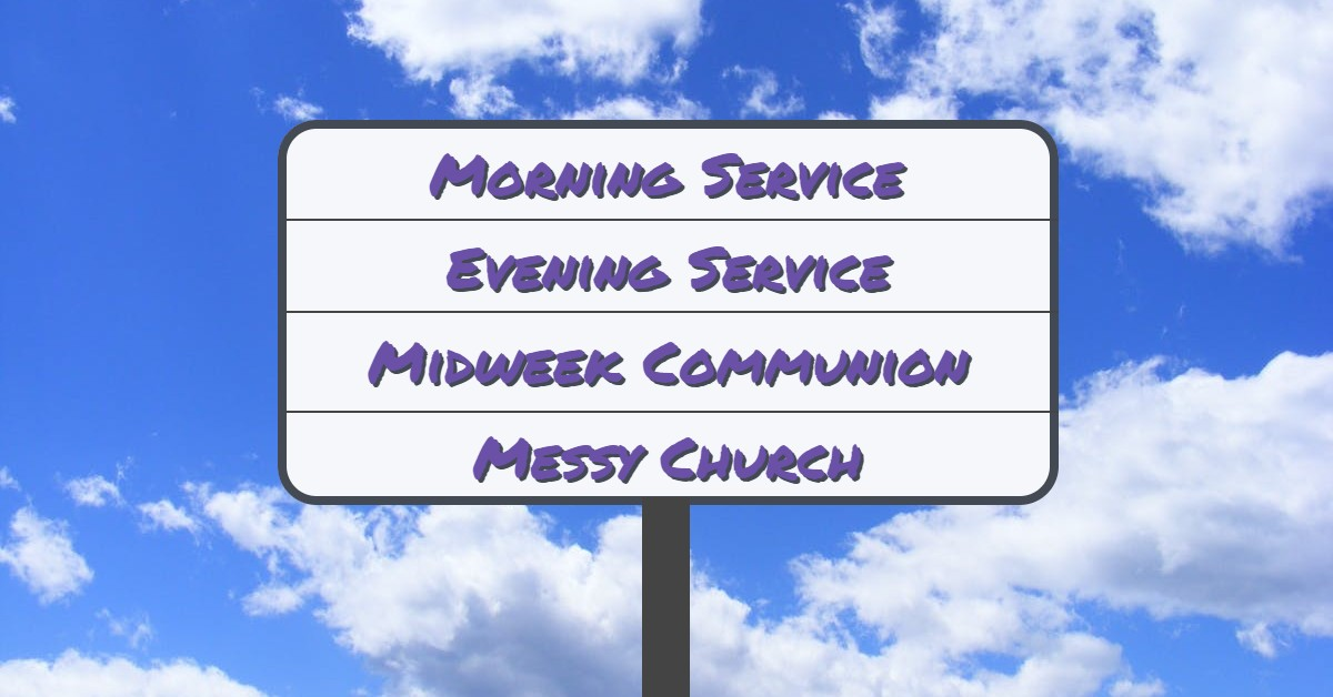 One Church Multiple Services -