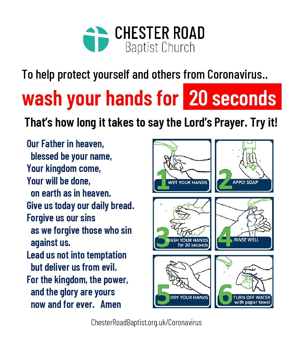 hand-washing - Lords Prayer-pa